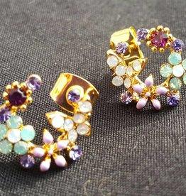 PRUDENCE C - Jewelry Designs Multicolor Beads Crystal/Enamel Beads Base Metal
