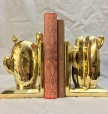 Bloomingville Gold-Finish Bookends Set of Two by Bloomingville