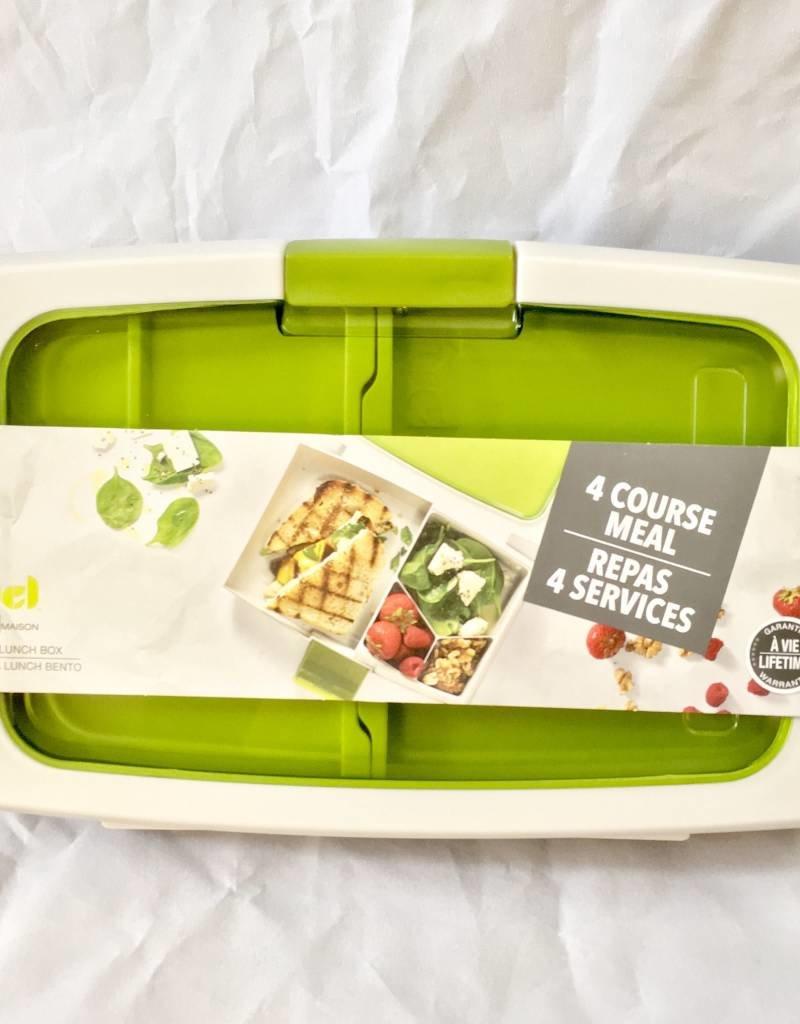 Trudeau Fuel Bento Box Green