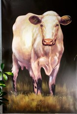 Park Hill Milking Shorthorn Giclee