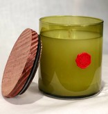 Aromatique Fresh Geranium & Mint Med round Candle