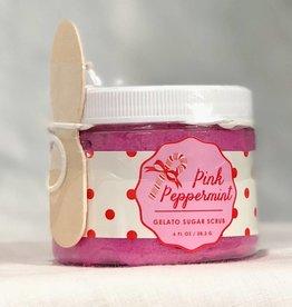Feeling Smitten Pink Peppermint Gelato Sugar Scrub