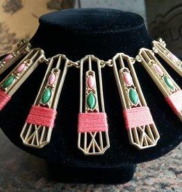 Sparklepop Wholesale Annabelle Necklace - Pink