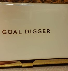 CR Gibson Goal Digger Business Card Holder