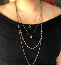 PRUDENCE C - Jewelry Designs Antique gold brass 4 layers brass chain rose gold brass chain