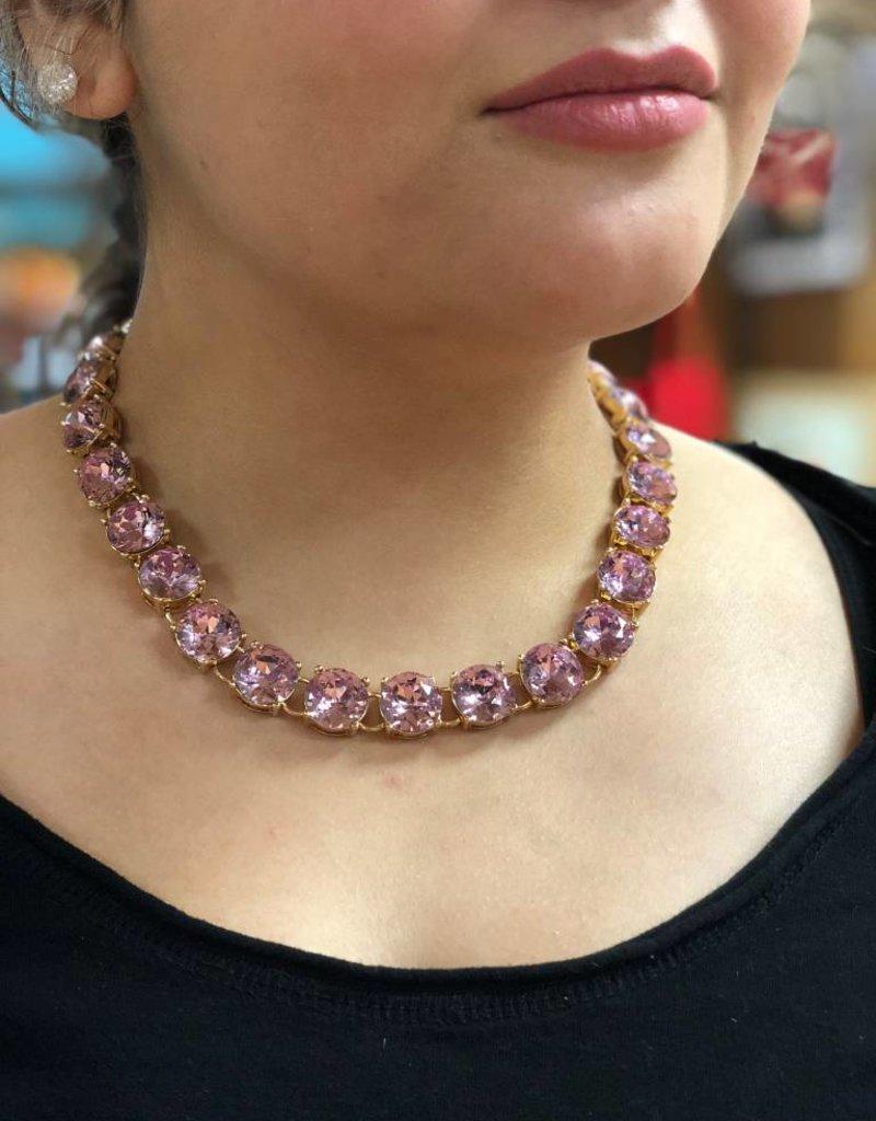 Sparklepop Wholesale Maddie Necklace - Purple