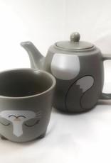 Now Designs Tea for me set Pekoe Cat