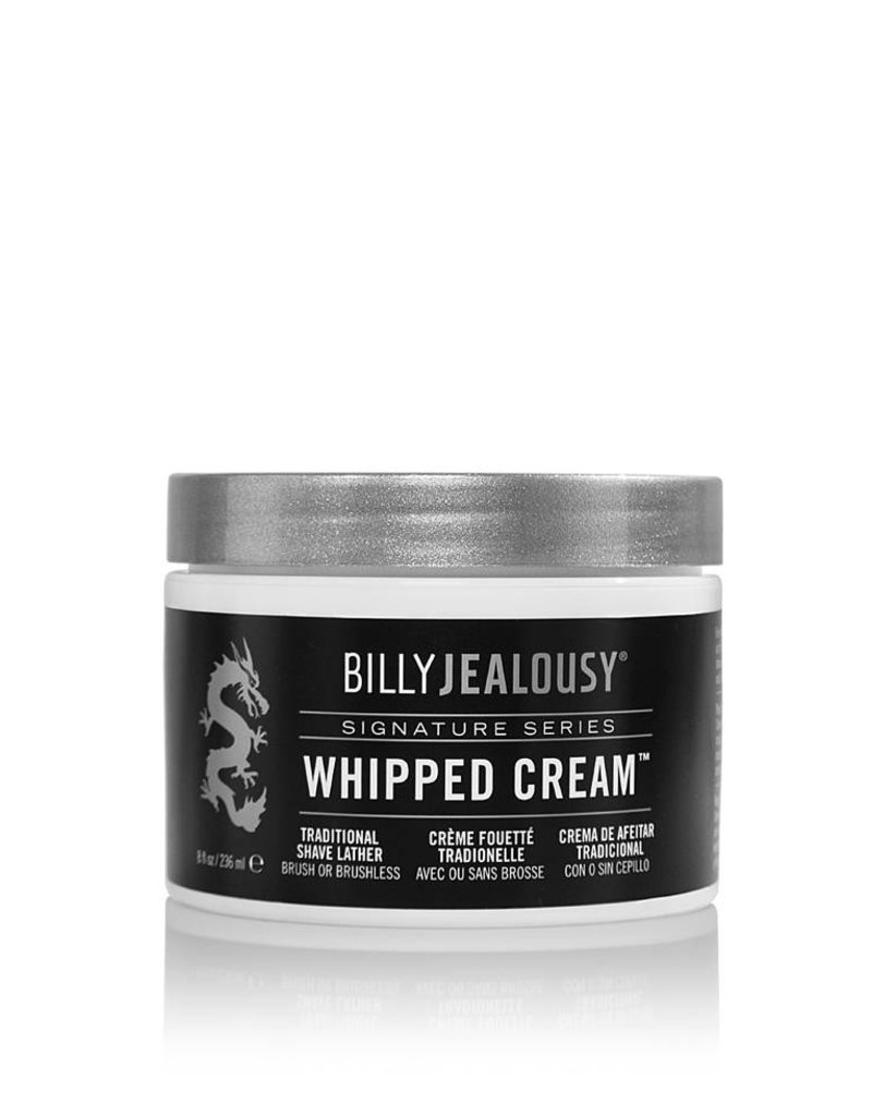 Billy Jealousy Billy Jealousy- Whipped Cream Traditional Shave Lather 8oz