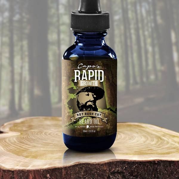 Capo's Capo's Beard Oil 907 Bushcraft Cut