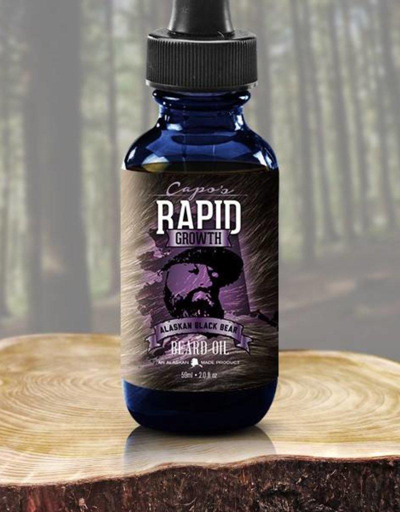 Capo's Beard Oil Alaskan Black Bear