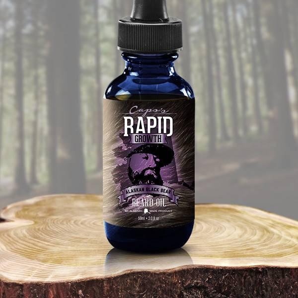 Capo's Capo's Beard Oil Alaskan Black Bear