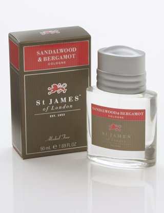 St. James Of London St. James Of London Sandalwood & Bergamot Cologne