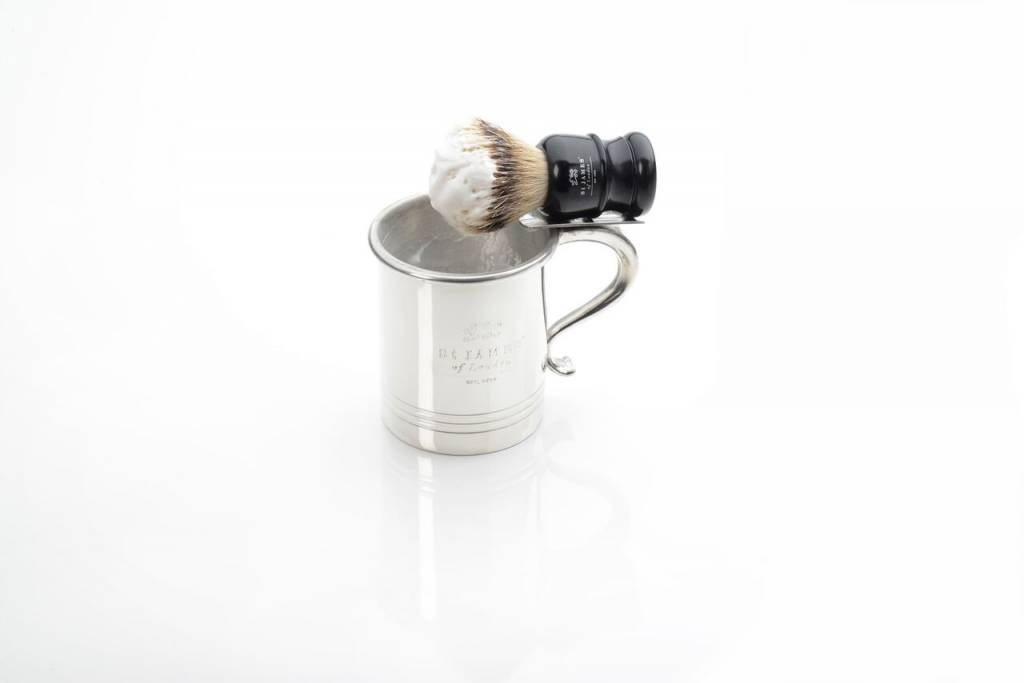 St. James Of London St. James Of London Pewter Mug w/ Brush Holder
