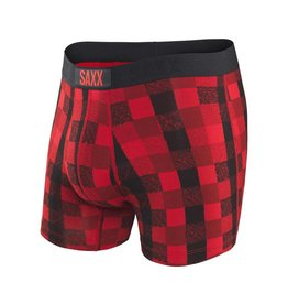 Saxx Saxx-Vibe Red Lumber Jack Plaid