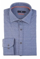 Stone Rose Stone Rose Geometric Jersey Dress Shirt SYD 6249