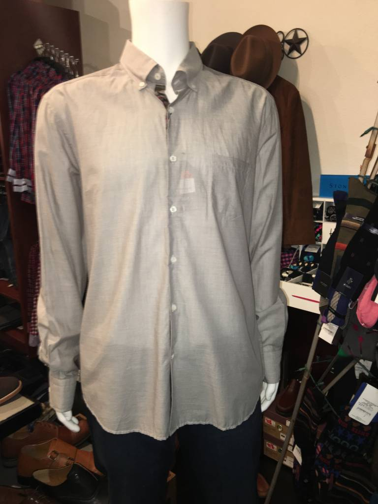 Stone Rose Stone Rose-Voile Long Sleeve Shirt 5/XL