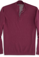 Peter Millar Peter Millar-Crown Sport Salisbury Cotton Poly Plaited Quarter Zip (MF16ES01)