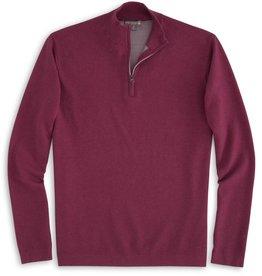 Peter Millar Peter Millar-Crown Sport Salisbury Cotton Poly Plaited Quarter Zip (MF16ES01)