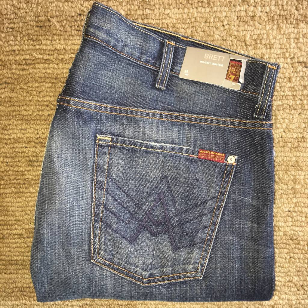 7 For All Mankind 7 For All Mankind-Brett-A Pocket 38