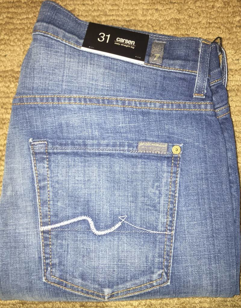 7 For All Mankind-Carsen-Air Blue