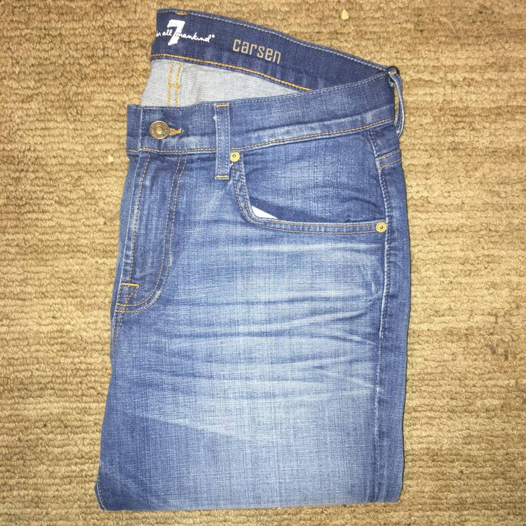 7 For All Mankind 7 For All Mankind-Carsen-Air Blue