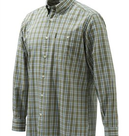 Beretta Beretta-Tom Shirt Brown Check L/S