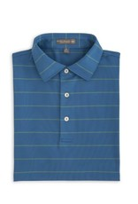 Peter Millar Peter Millar-Summer Comfort Potter Stripe Stretch Mesh Sean Self Collar