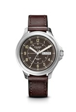 Filson Filson-Skagit Watch Dark Brown Leather Strap/Dk Chocolate Face