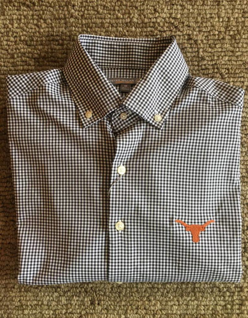 Peter Millar Peter Millar-Stretch Mini Check Woven UT