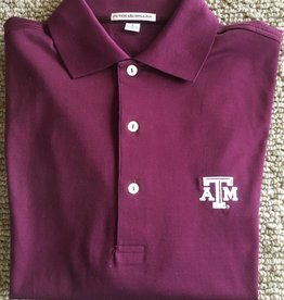 Peter Millar Peter Millar - Collegiate Polo Maroon ATM Small