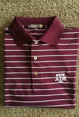 Peter Millar Peter Millar Campus Stripe Knit Collar Polo A&M