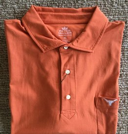 Peter Millar Peter Millar Seaside Wash Solid Polo Texas
