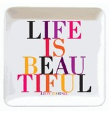 quotable life is beautiful dish