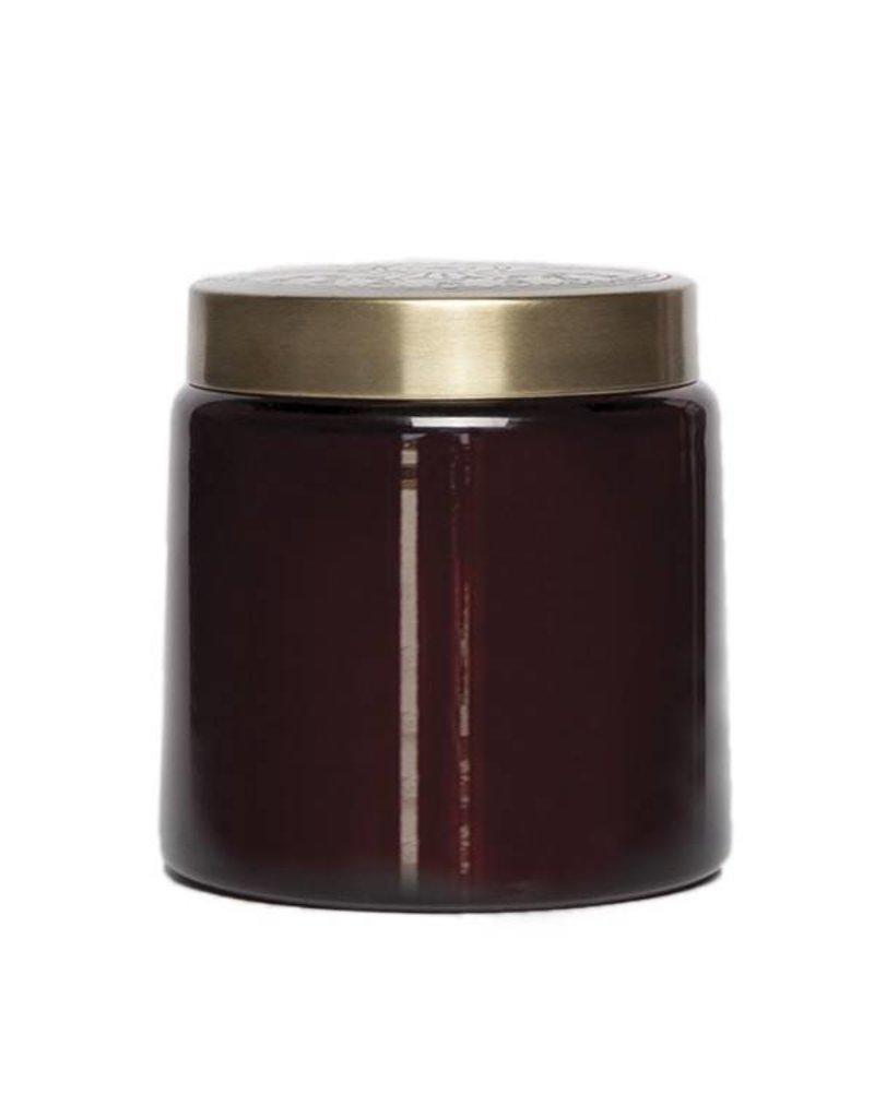 aspen bay tinted glass jar plum gardenia fig
