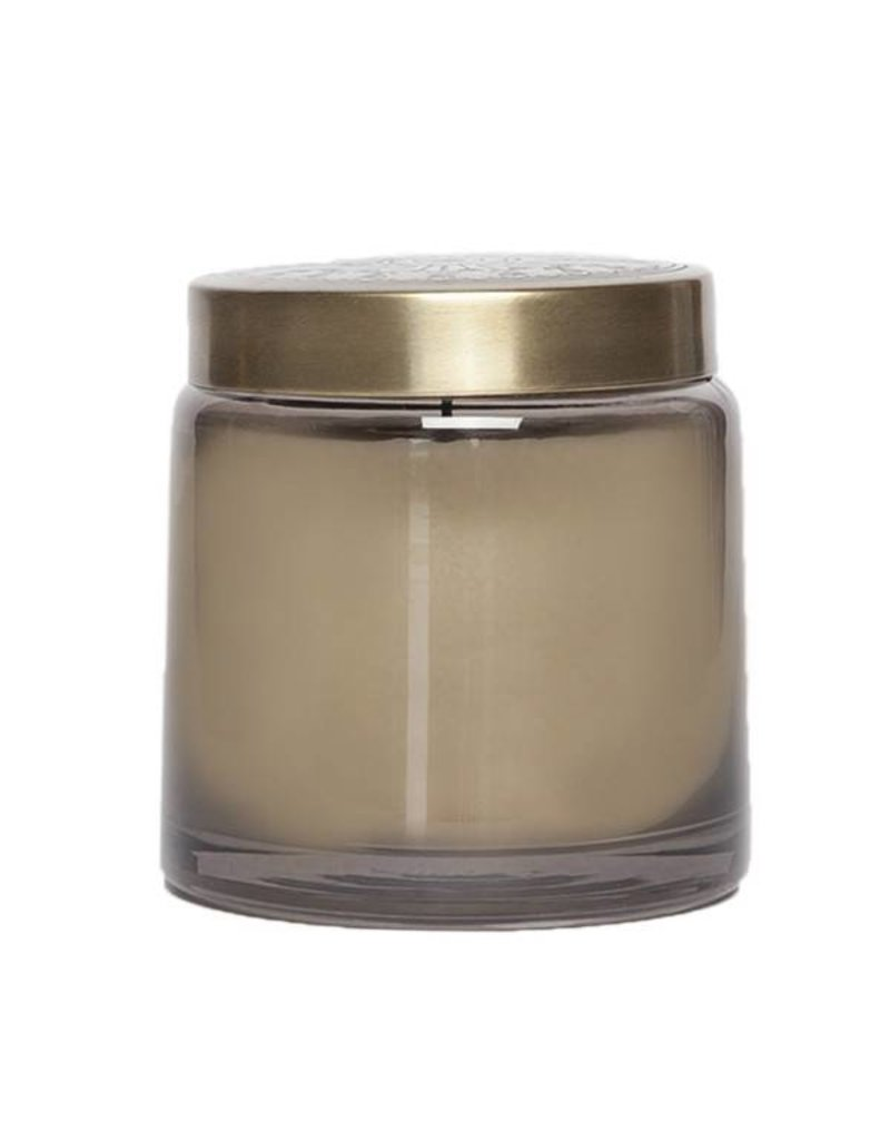 aspen bay tinted glass jar gray mandarin mint
