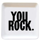 quotable you rock dish