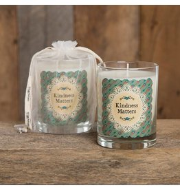 natural life kindness matters soy candle