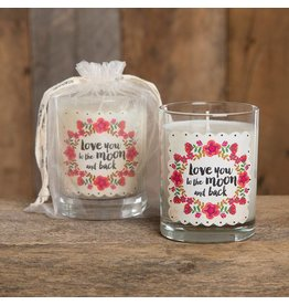 natural life love you to the moon soy candle black orchid