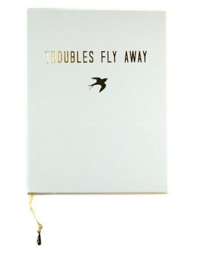 lucky feather lucky feather troubles fly away journal