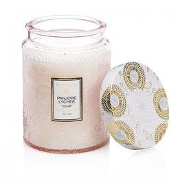 voluspa voluspa limited edition panjore lychee glass jar