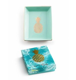 rosanna patio party tray pineapple