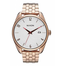nixon nixon bullet all rose gold/silver