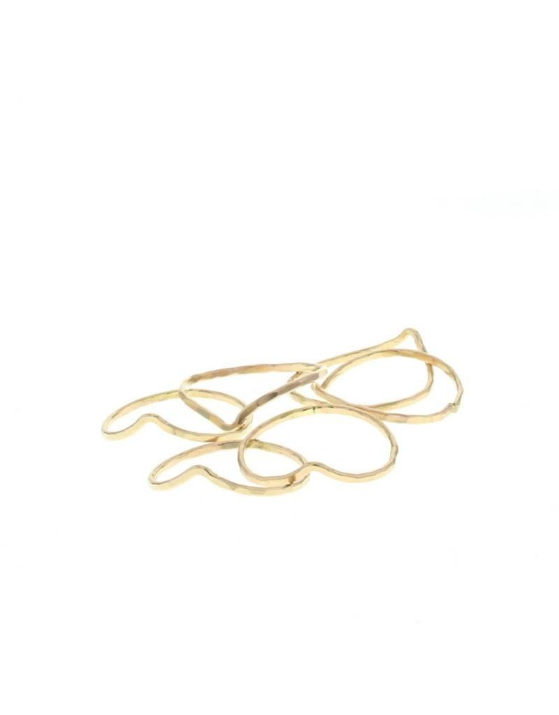 lotus jewelry studio lotus chevron stacking ring