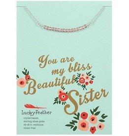 cherishing stone sister necklace