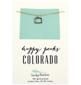 lucky feather colorado necklace