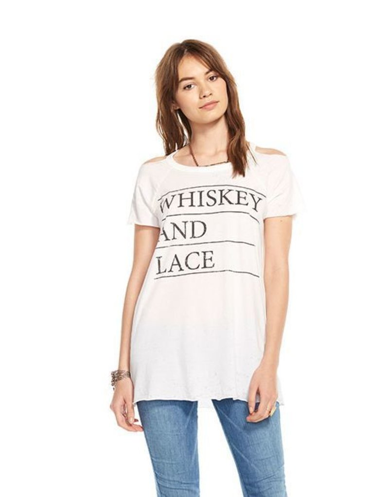 chaser chaser whiskey & lace tee