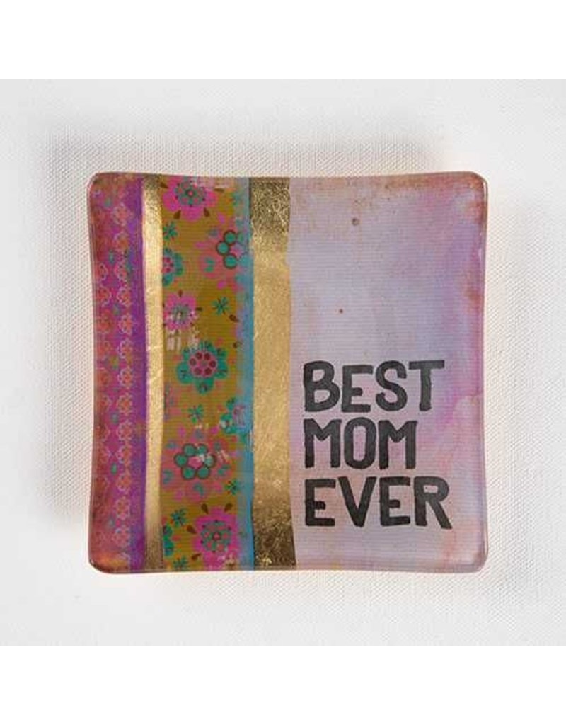 natural life natural life best mom ever glass tray