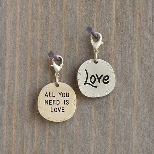 natural life natural life all you need is love junk market charm