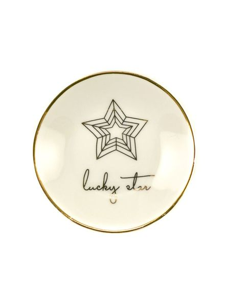 lucky star trinket dish