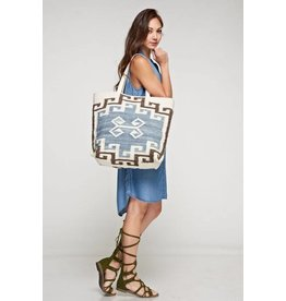 lovestitch lena carpet tote bag